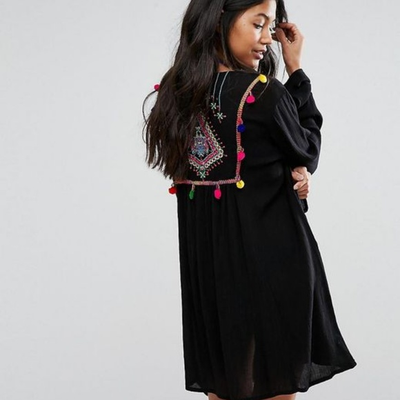 ace0d28c71 ASOS Swim | Embroidered Beach Cover Up | Poshmark